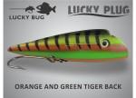 orange and green tigerback