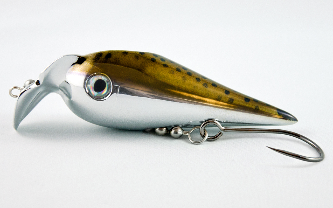 Lucky Bug Lures Chrome Fusion Lure Precious